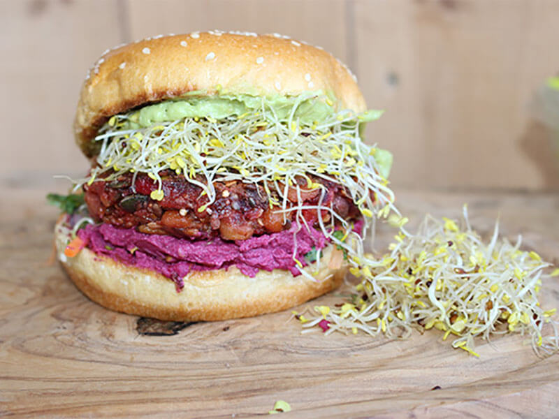 Good4U Superfood Burger