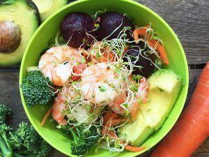 Good4U Prawn Salad