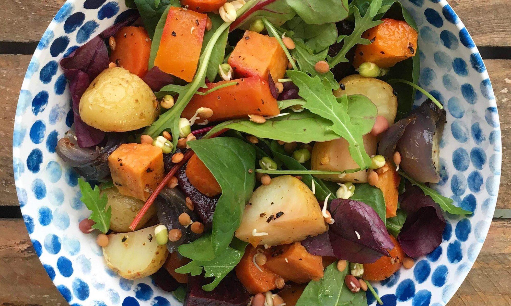 Good4U Roast Vegetable Salad