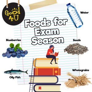 Top 6 Brain Boosting Foods for Exam Season