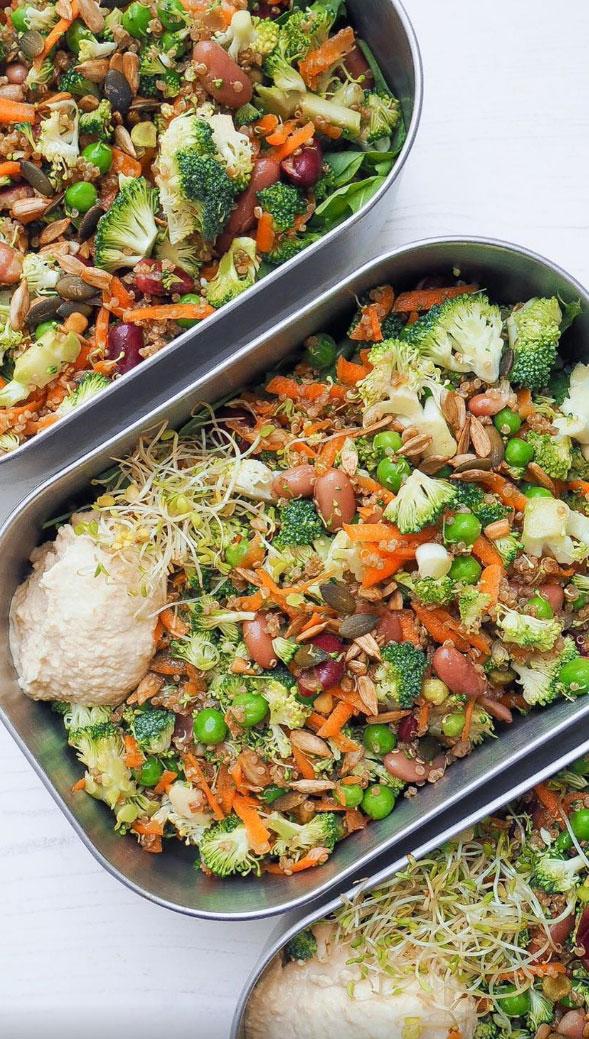 Crunchy Mixed Bean Salad